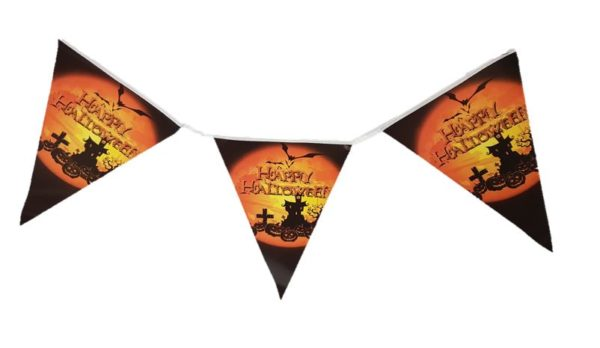 Happy Halloween pennat banner
