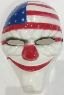 Smiley clown mask