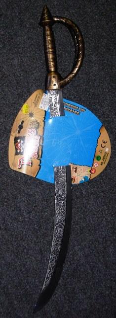 Pirate sword with split handle