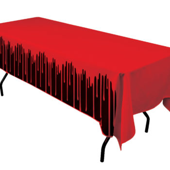 Bloody table cover