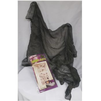 Creepy cloth charcoal colour