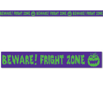 Fright zone party tape
