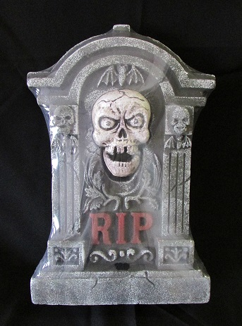 Animated tombstone