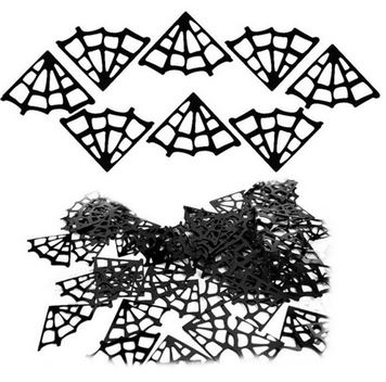 Spider web confetti