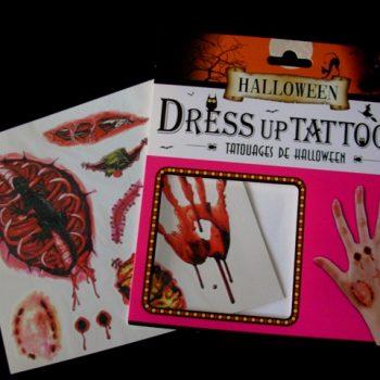 Dress up tattoos