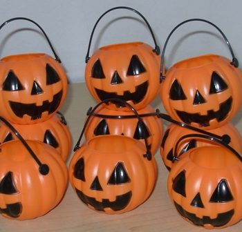 Mini pumpkin pots