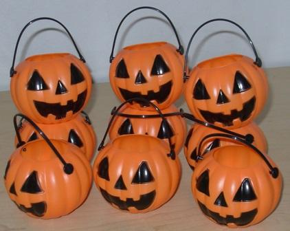 Mini pumpkin pots