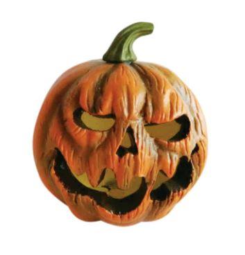 Strobe light pumpkin