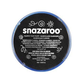 Snazaroo face paint black