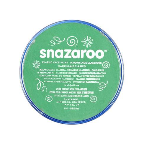 Snazaroo face paint bright green