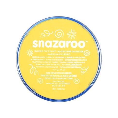 Snazaroo face paint bright yellow