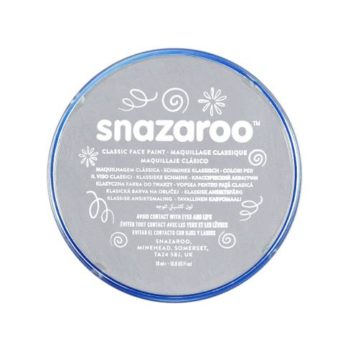 Snazaroo light grey face paint