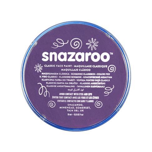 Snazaroo face paint purple
