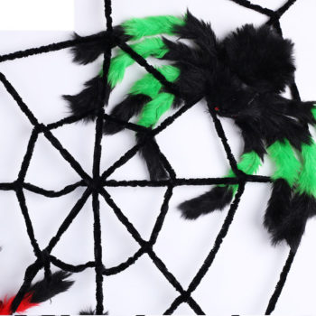 Furry spider in assorted colours