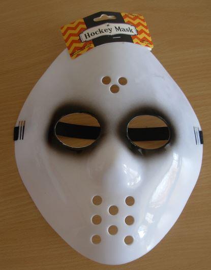 Hockey mask - black eyes