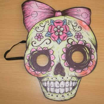 Day of the Dead mask - ladies