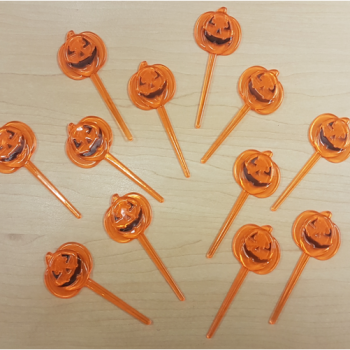 Cupcake picks - pumpkins