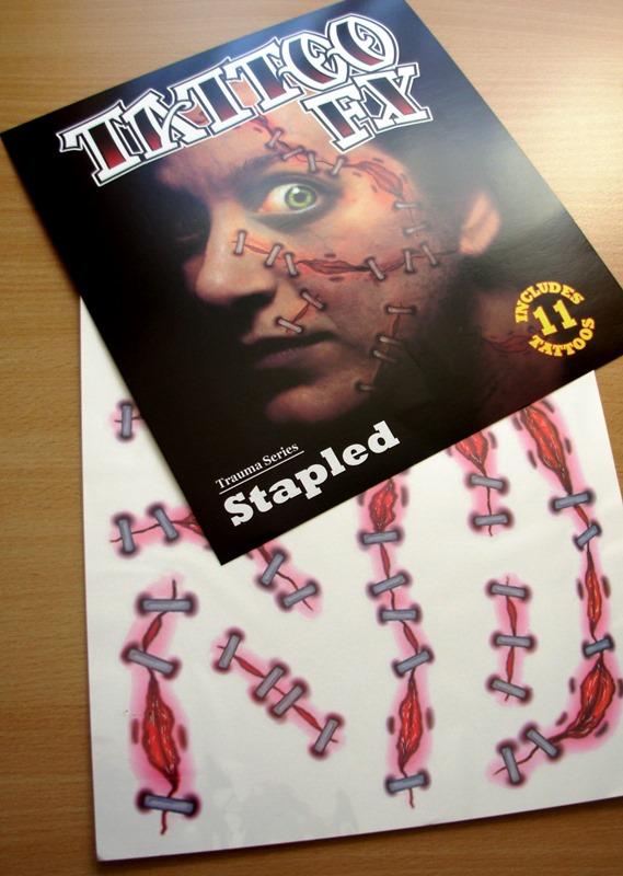 Tattoo FX - stapled