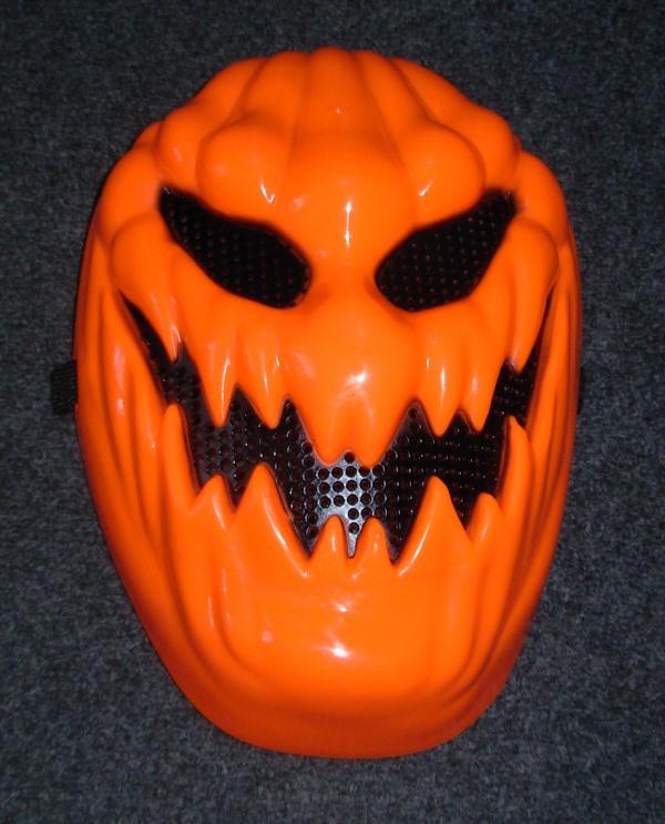 Creepy pumpkin mask