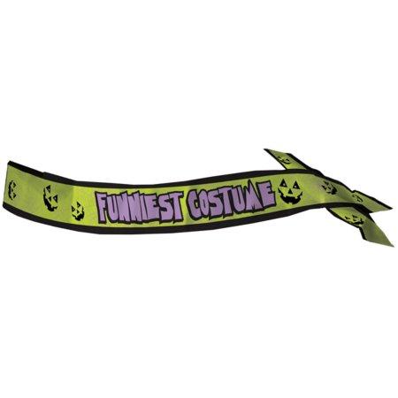 Funniest costume sash