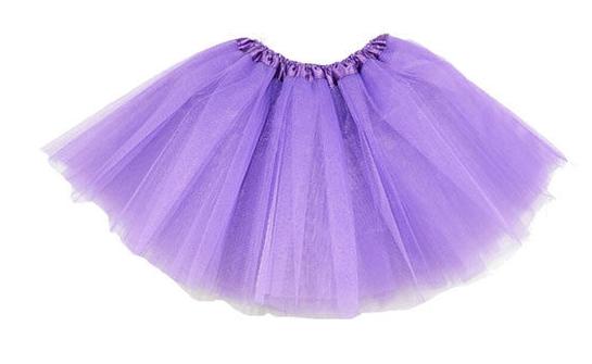 Purple net tutu - adult