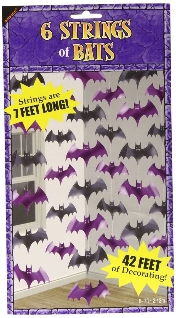 String decoration bats
