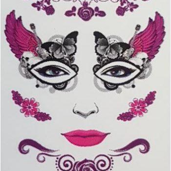 Costume tattoos - flowers & butterflies