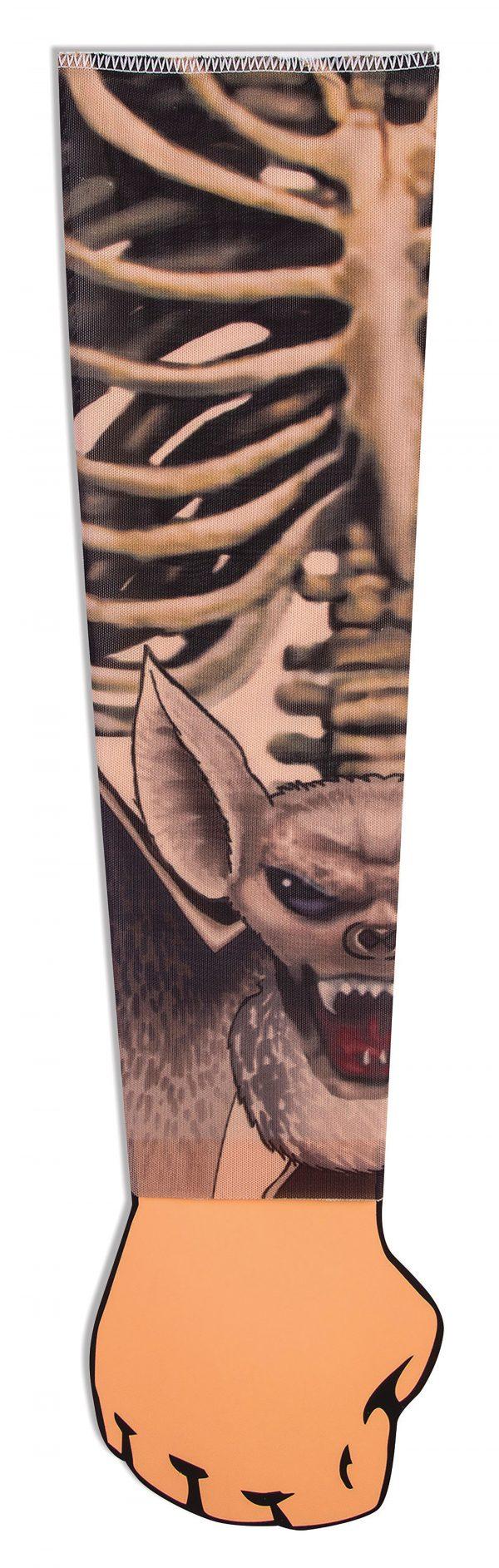 Tattoo sleeve - skeleton