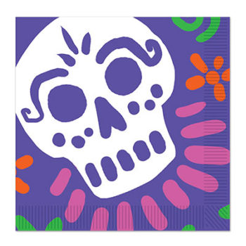 Day of the Dead serviettes