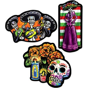 Day of the dead cutouts