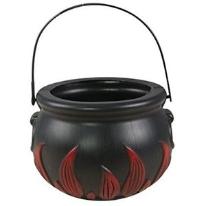 Witch cauldron black