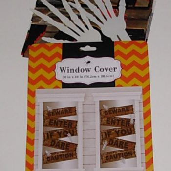 Window cover - beware