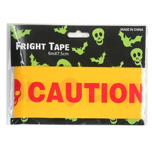 Caution fright tape