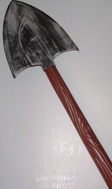 Fake shovel