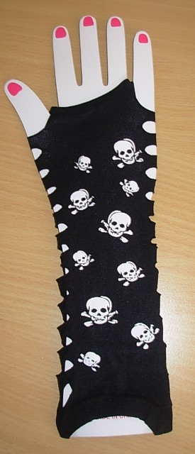 Ladder gloves - skulls