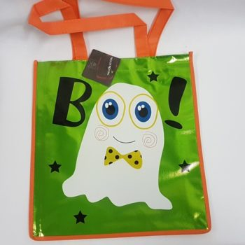 Trick or treat bag - ghost - boo