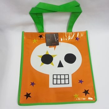Trick or treat bag - skull