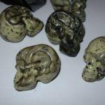 Small skulls in a bag