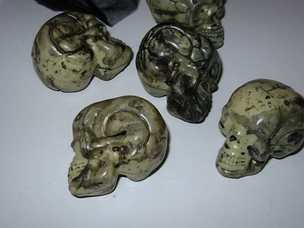 Small skulls in a bag