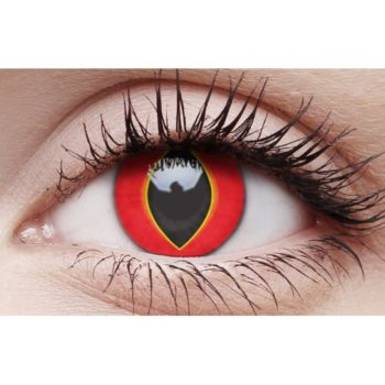 Mad Frog contact lenses