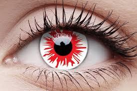 Flashfire contact lenses