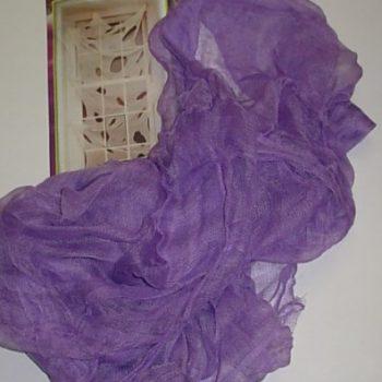 Spooky purple cloth