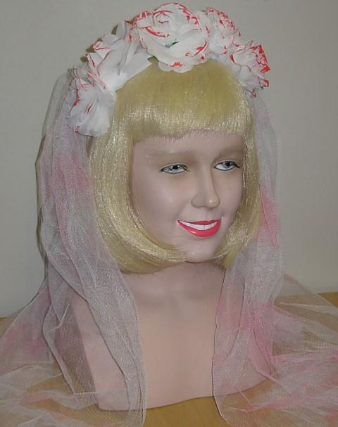 Bloody bride's veil