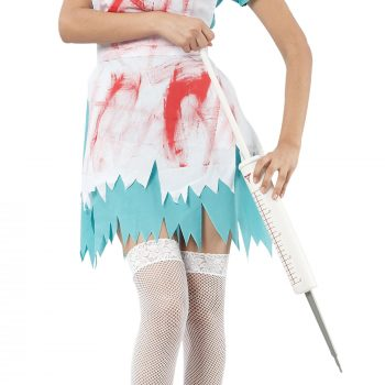 Blood spattered nurse costume