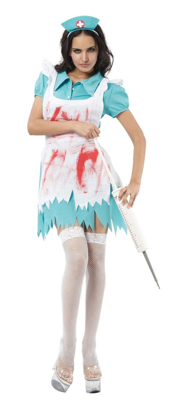 Blood spattered nurse costume