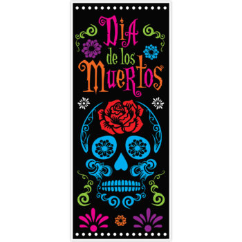 Day of the Dead door cover