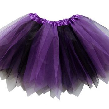 Purple and black child tutu
