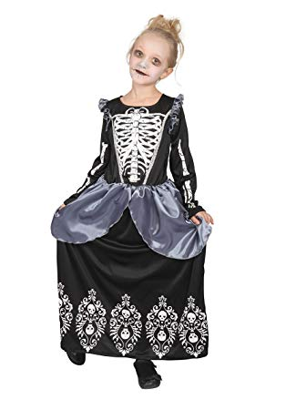 Skeleton Queen child costume
