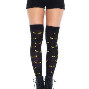 Spooky eyes thigh highs