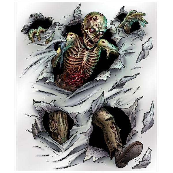Zombie insta-mural
